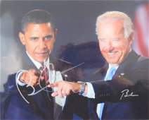 Barack Obama & Joe Biden Photograph (Signed)