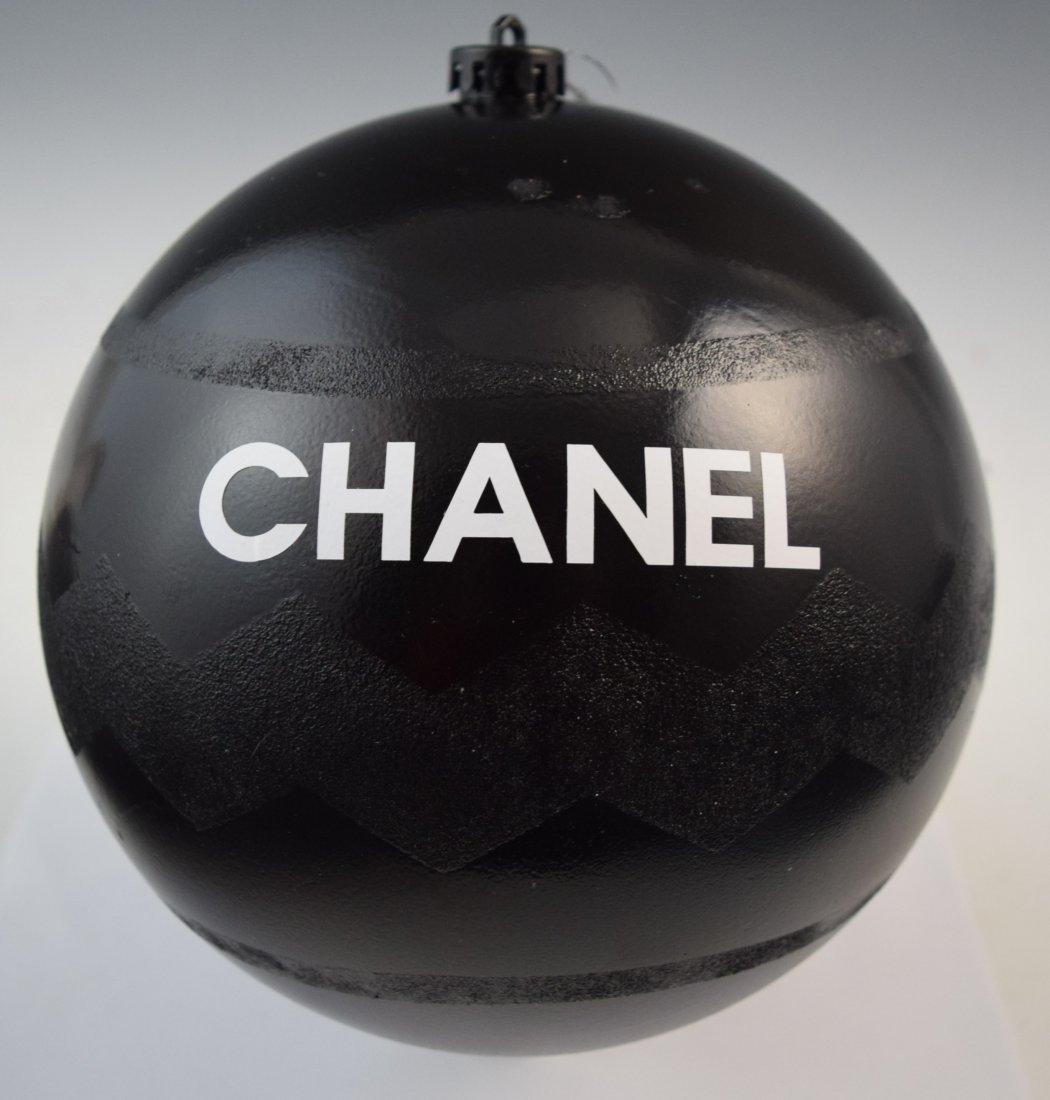 Large CC LOGO Glitter Christmas Ornament