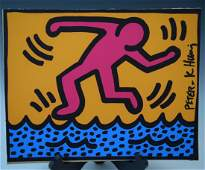 Keith Haring - Pop Shop II Silkscreen (Signed)