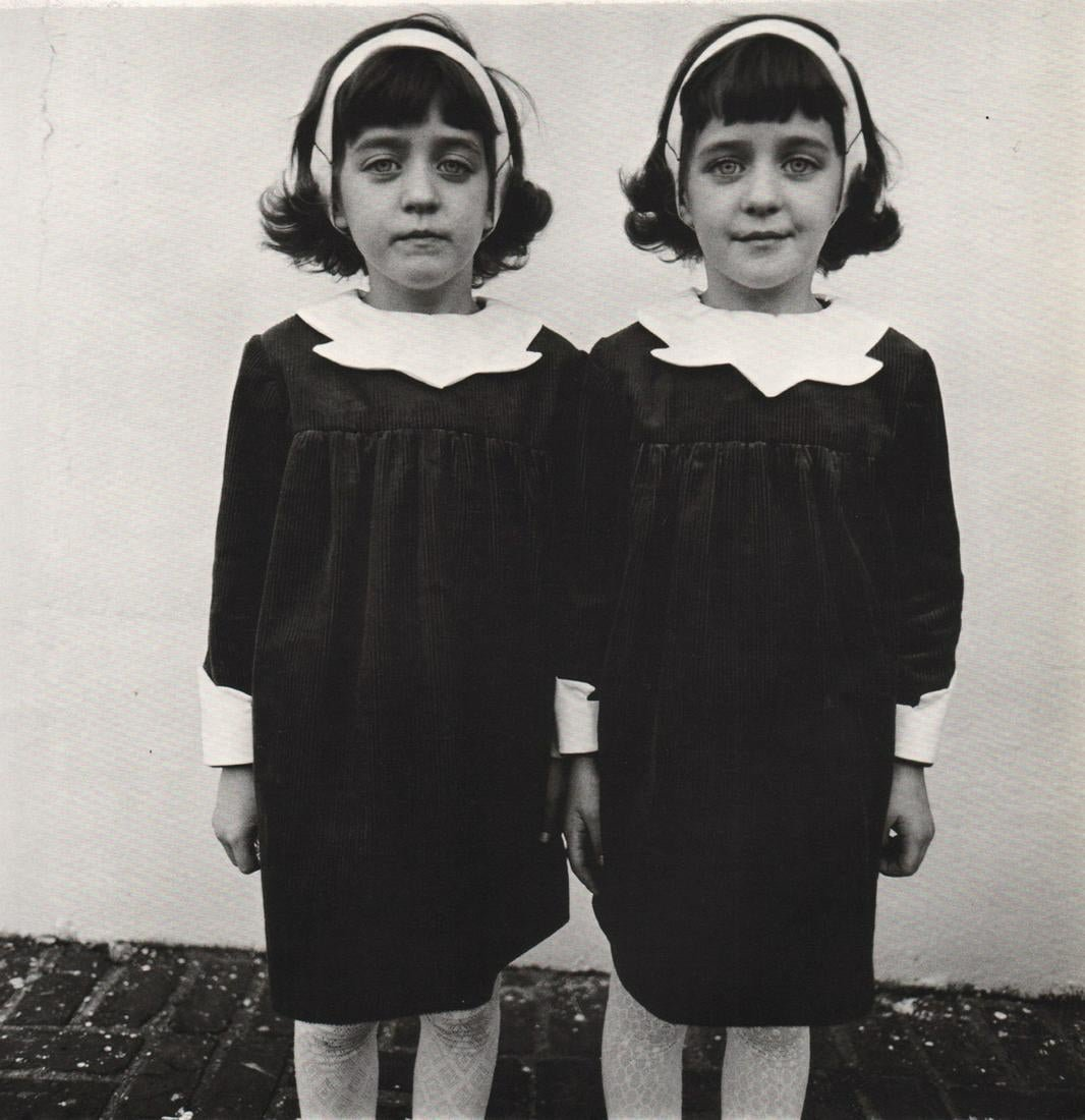 Diane Arbus - Identical Twins, Roselle NJ, 1967