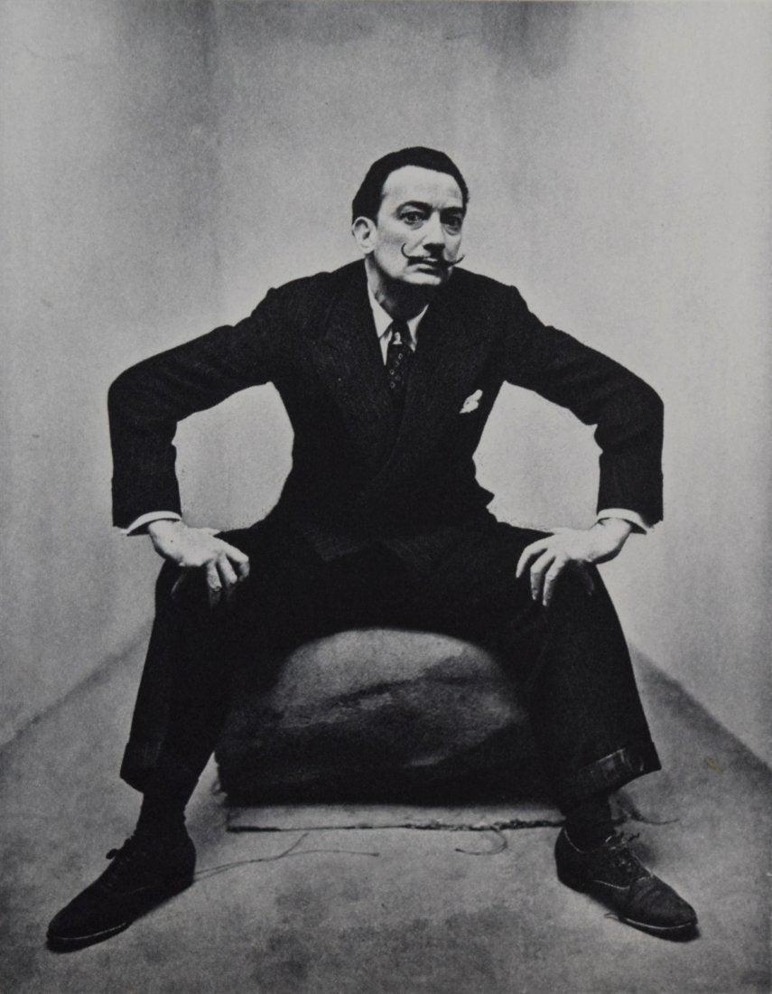 Irving Penn - Salvador Dali, New York, 1947