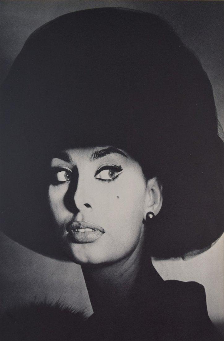 Irving Penn - Sophia Loren, New York, 1959