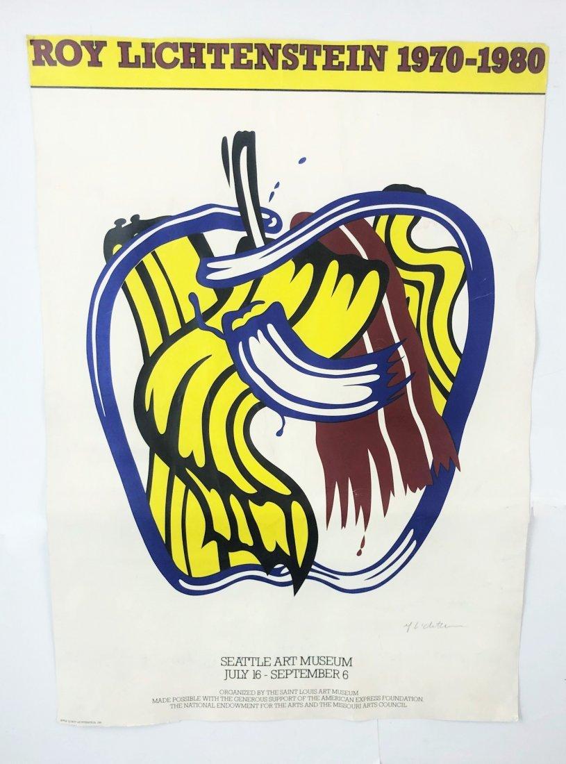 Roy Lichtenstein - Seattle Museum Screenprint (Signed)