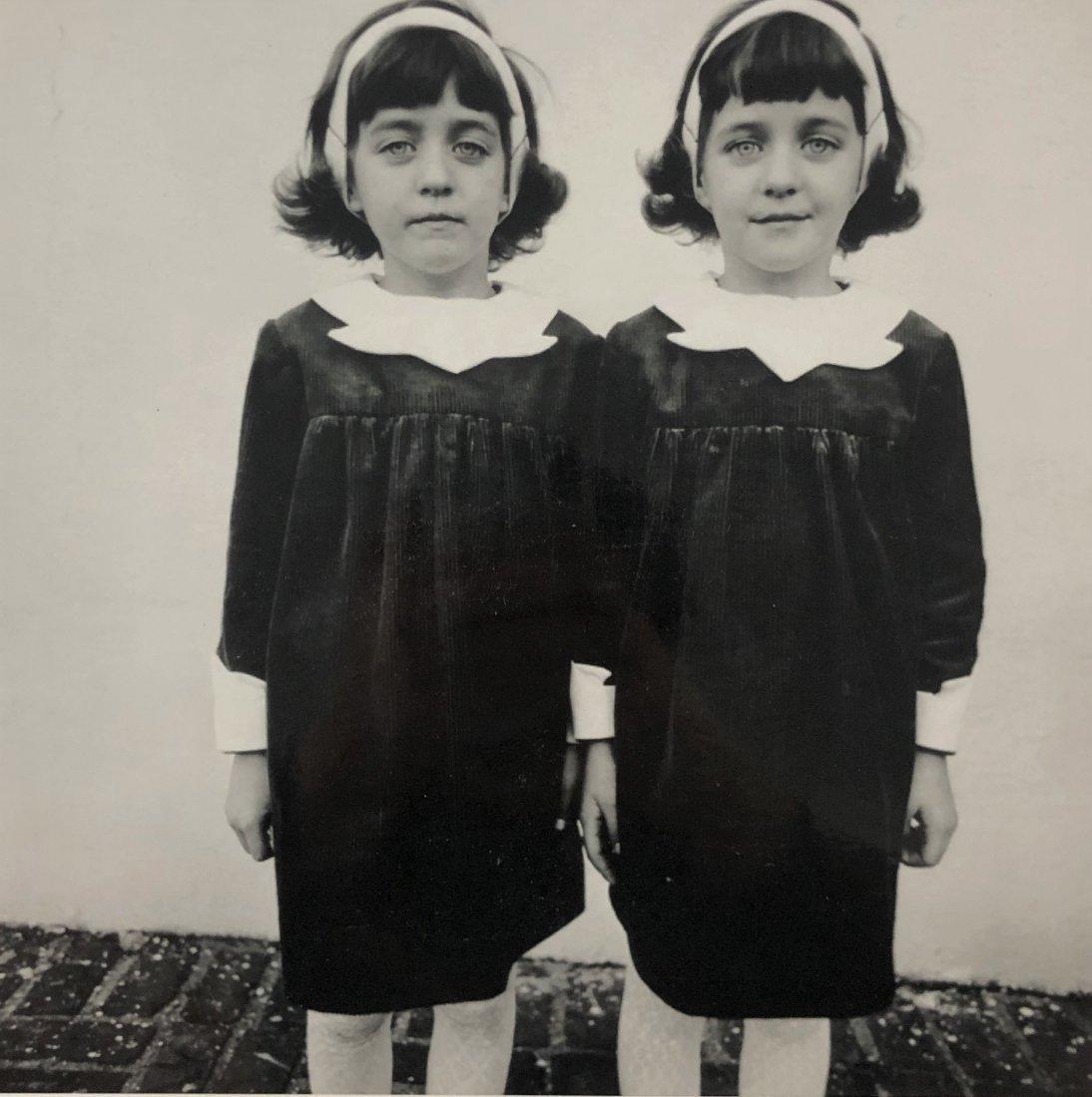 Diane Arbus - Identical Twins, Roselle, Silver Gelatin