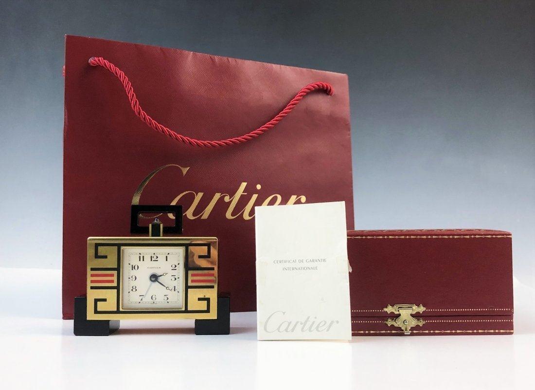 Cartier Art Deco Clock