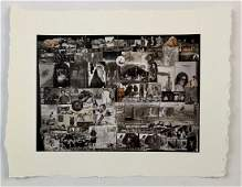 Peter Beard  Untitled Collage