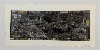 Peter Beard  The Gardeners of Eden Triptych 1972