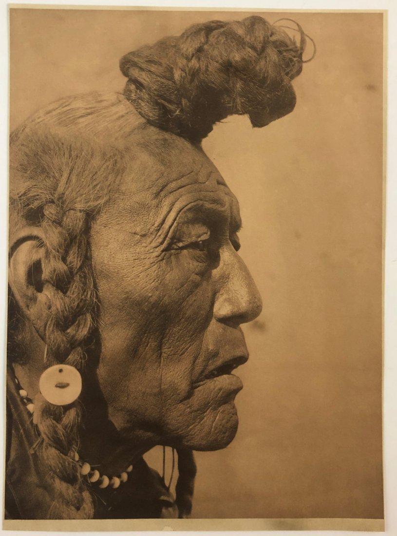 Edward Curtis - Native American Portrait
