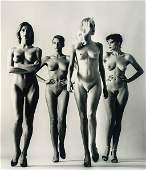 Helmut Newton  Sie kommen naked French Vogue 1981