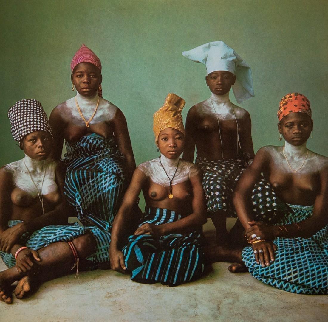 Irving Penn - Dahomey, Five Girls, 1967