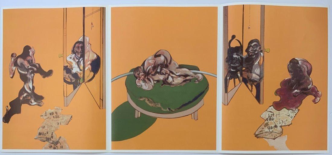 Francis Bacon - Triptych, Human Body, 1970
