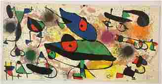 Joan Miro - Untitled, Lithograph (Hand Signed)