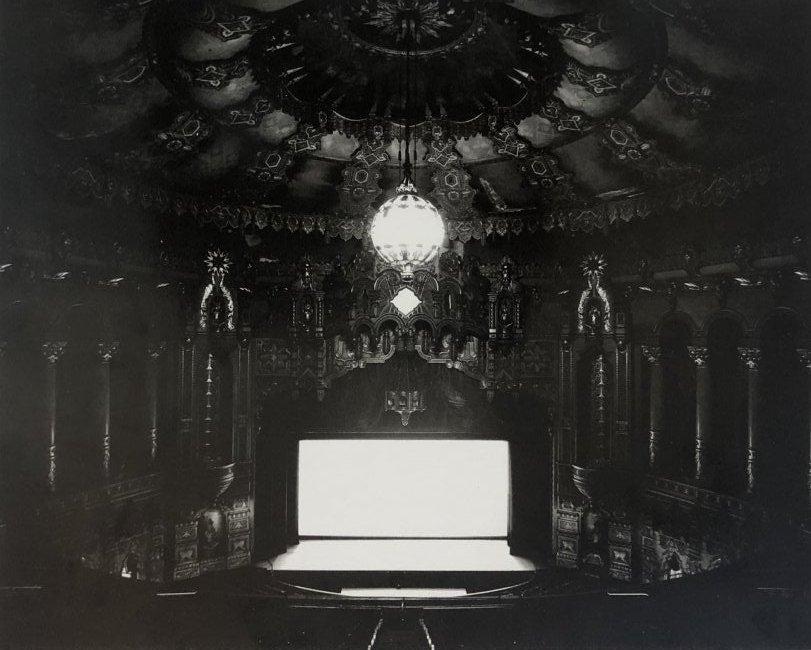 Hiroshi Sugimoto - Fox Theater, Michigan, 1978
