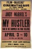 Andy Warhol My Hustler Film Cinemateque 1966 Poster