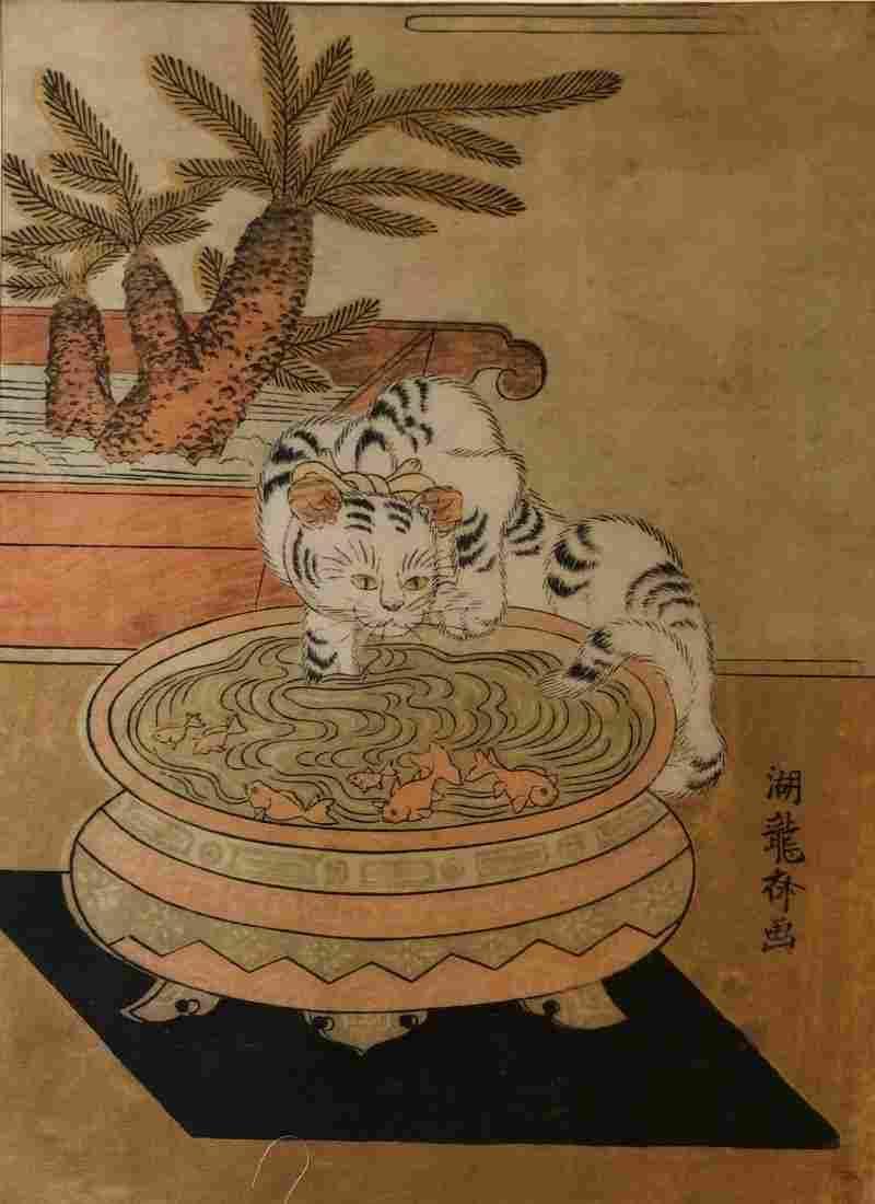Isoda Koryusai Japanese Woodblock