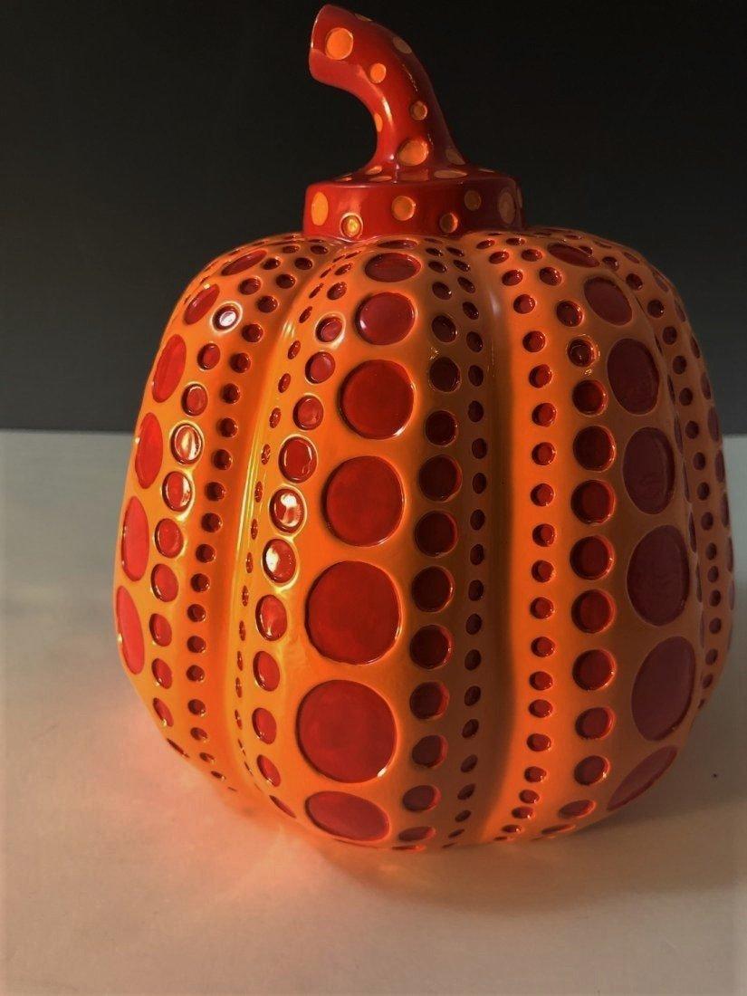 Yayoi Kusama, Large Pumpkin Sculpture