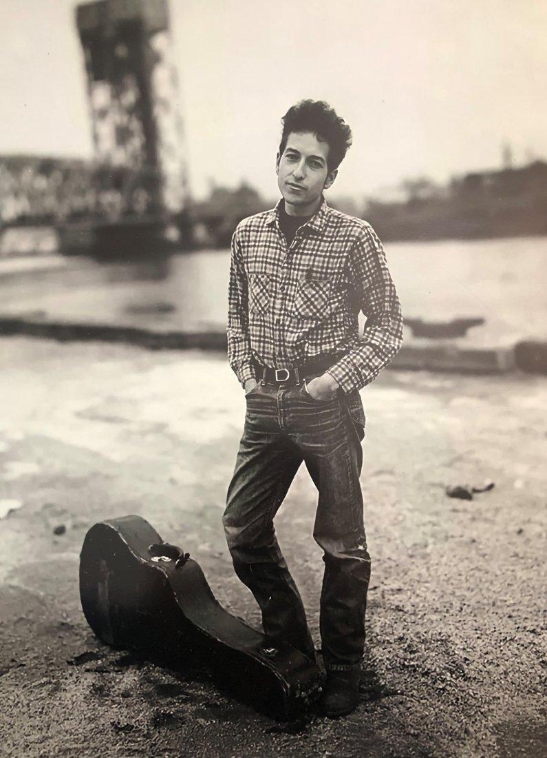 Richard Avedon - Bob Dylan, New York, 1963, Photograph