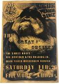 Great Society Big Brother Holding Co Concert Poster
