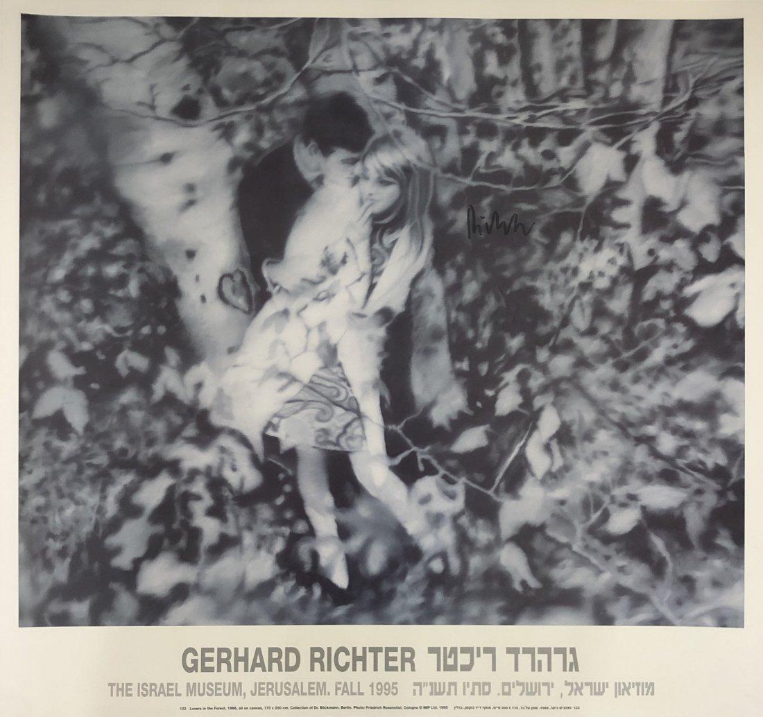 Gerhard Richter - Israel Musuem, 1995, Hand Signed
