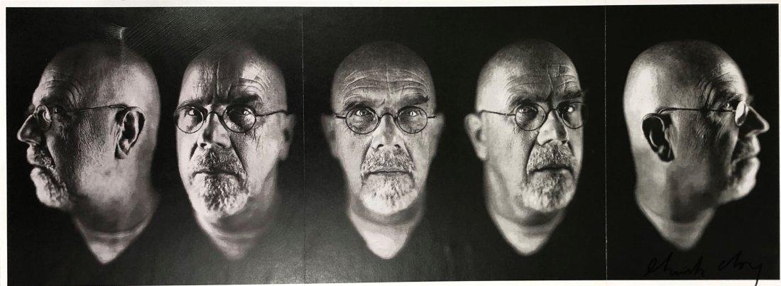 Chuck Close - Self-Portrait, Five Part, Hand Signed