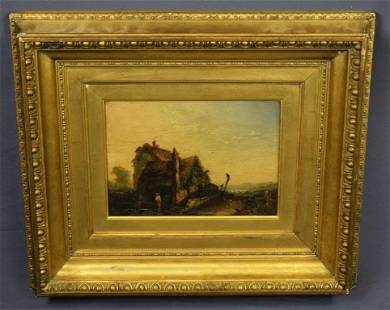 John Constable - Oil on Canvas, Landscape