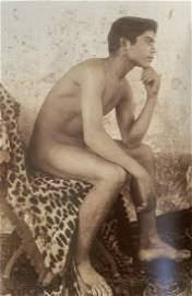 Wilhelm von Gloeden - Male Nude, Photo-Litho