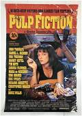 Pulp Fiction Movie Poster Cast Signed