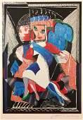David Hockney  An Image of Celia Pencil Signed