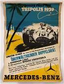 Mercedes-Benz Tripolis Grand Prix Poster