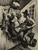 Thomas Hart Benton -  I Got a Gal on Sourwood Mountain