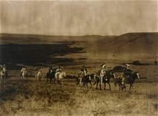 Edward Curtis - The Land of th Atsina