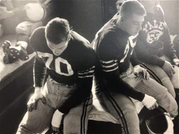 Bruce Davidsons - Yale Football, Photo-Litho