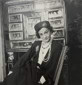 Cecil Beaton - Coco Chanel, Photo-Litho