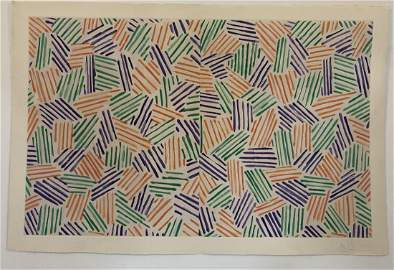 Jasper Johns (Untitled) 1976 Etching Pencil Signed