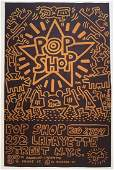 Keith Haring (Pop Shop) Offset Lithograph