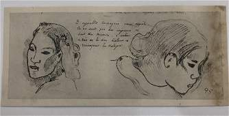 Paul Gauguin - Engraving (Limited Edition)