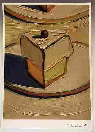 Wayne Thiebaud Cake Print