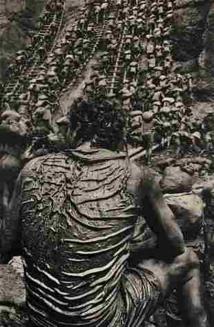Sebastiao Salgado (Goldmine Worker) Print