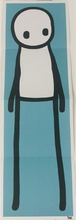 Stik - Standing Figure Offset Lithograph