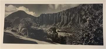 1958 Ansel Adams Hawaii Black and White Photo Print