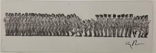 Cindy Sherman Black and White Print