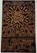 Keith Haring Pop Shop Print on Paper