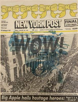 WOW! New York Post Newspaper