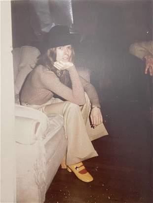 "Andy Warhol ""David Bowie, 1971"" Polaroid Print"