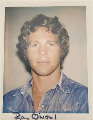 """Andy Warhol """"Ryan O'Neal, 1971"""" Polaroid Print"""