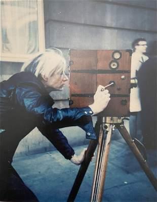 "Andy Warhol ""Vintage 1907 Camera, 1971"" Polaroid Print"