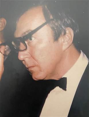 """Andy Warhol """"Jasper Johns, 1972"""" Polaroid Print"""