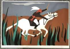 Jacob Lawrence Colored Print