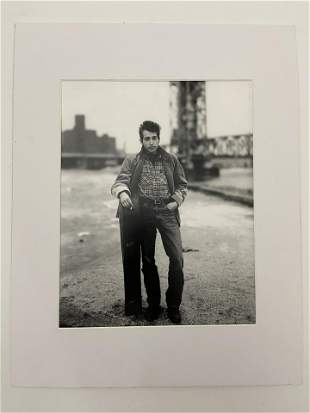 "Richard Avedon ""Bob Dylan"" Black and White Print"