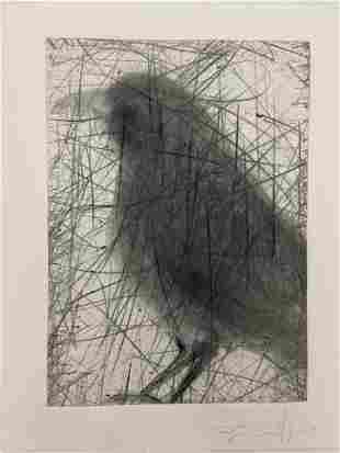 Jim Dine Etching